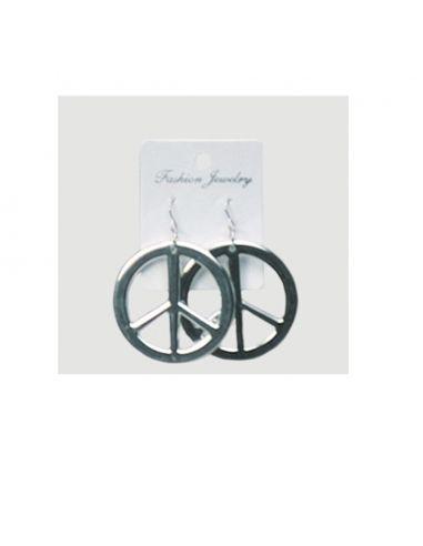 Pendientes Símbolo De La Paz Tienda de disfraces online - venta disfraces