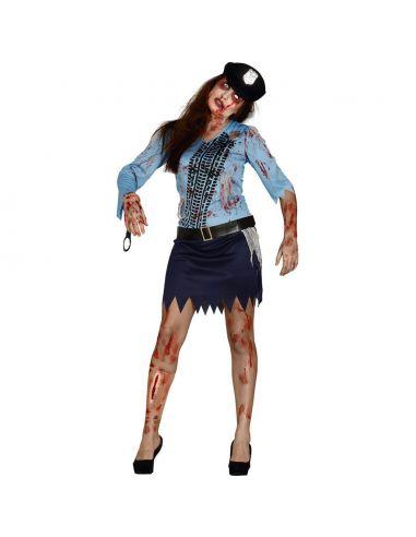 Disfraz Zombie Policia Tienda de disfraces online - venta disfraces