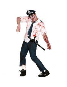 Disfraz de Policia Zombie Hombre Tienda de disfraces online - venta disfraces