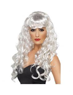 Peluca de Sirena Blanca Tienda de disfraces online - venta disfraces