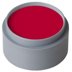 Maquillaje al agua Rojo profundo