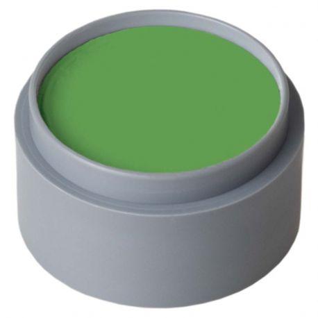 Maquillaje al agua Verde vivo