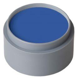 Maquillaje al agua Azul fuerte