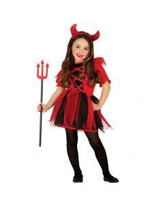 Disfraz de Diablilla para Niña Tienda de disfraces online - venta disfraces