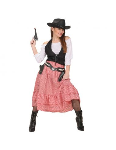 Disfraz Vaquera del Oeste Tienda de disfraces online - venta disfraces