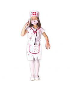 Disfraz Zombie Enfermera infantil Tienda de disfraces online - venta disfraces