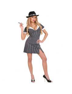 Disfraz de Gangster Chica Tienda de disfraces online - venta disfraces