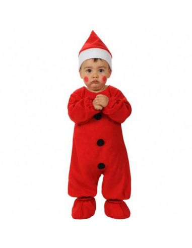 Pelele Disfraz de Papa Noel Bebe