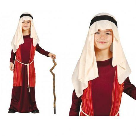 Disfraz San José-Pastor Inf en rojo
