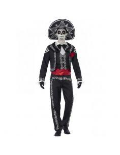 Disfraz de señor Huesos del Día de Muertos Tienda de disfraces online - venta disfraces