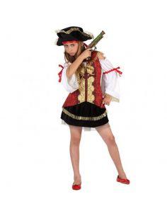 Disfraz de Pirata de Lujo niña Tienda de disfraces online - venta disfraces
