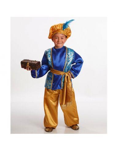 Disfraz Paje Melchor infantil