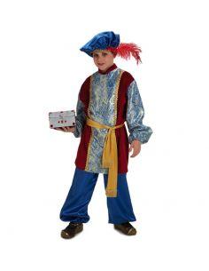 Disfraz de Paje Rey Melchor Infantil