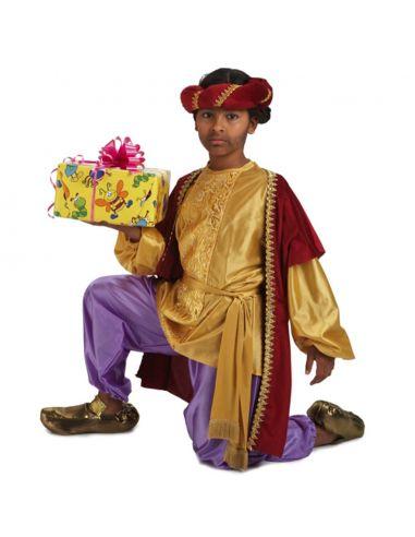 Disfraz de Paje Rey Baltasar Infantil