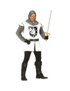 Disfraz de Guerrero Medieval Blanco Adulto Tienda de disfraces online - venta disfraces