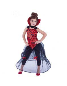 Disfraz Vampiresa de la Noche infantil