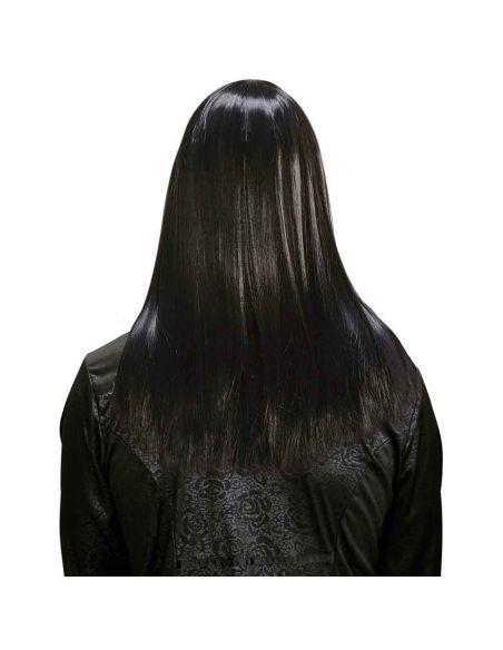 Peluca Larga Negra Super Calidad Tienda de disfraces online - venta disfraces