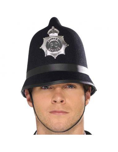 Casco de Oficial Policía Inglés  Tienda de disfraces online - venta disfraces