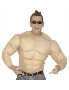 Disfraz de Pecho Musculoso