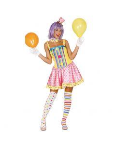 Disfraz de Payasa de Colores Tienda de disfraces online - venta disfraces