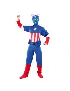 Disfraz Capitán Azul para adulto Tienda de disfraces online - venta disfraces