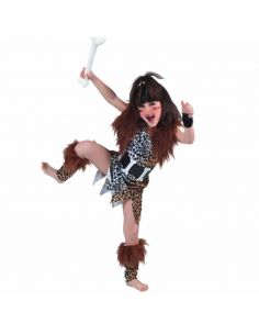 Disfraz de Cavernícola Infantil Niña Tienda de disfraces online - venta disfraces