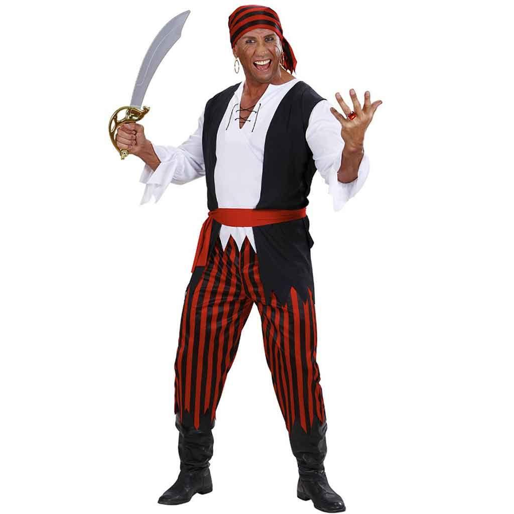 Disfraz de Pirata Bucanero adulto  79fb037d790
