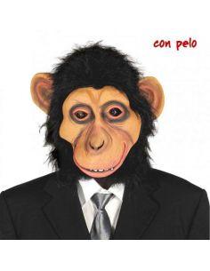 Máscara de Chimpancé con Pelo Tienda de disfraces online - venta disfraces