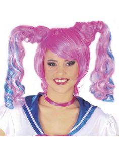 Peluca de Chica Anime Tienda de disfraces online - venta disfraces