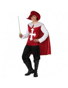 Disfraz de Mosquetero rojo adulto Tienda de disfraces online - venta disfraces