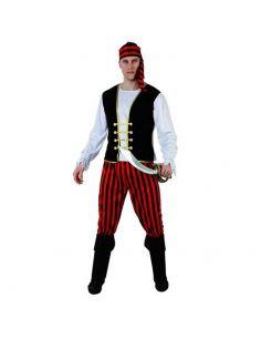 Disfraz de Pirata Rayas para Hombre Tienda de disfraces online - venta disfraces