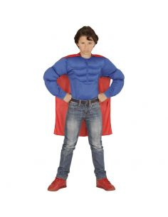 Camiseta Musculosa Azul Infantil Tienda de disfraces online - venta disfraces