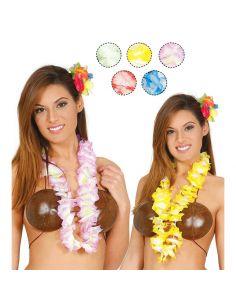 Collar Hawaiano en Colores Tienda de disfraces online - venta disfraces