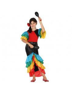 Disfraz Rumbera para niña Tienda de disfraces online - venta disfraces