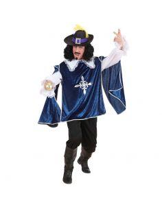 Disfraz Mosquetero azul adulto Tienda de disfraces online - venta disfraces