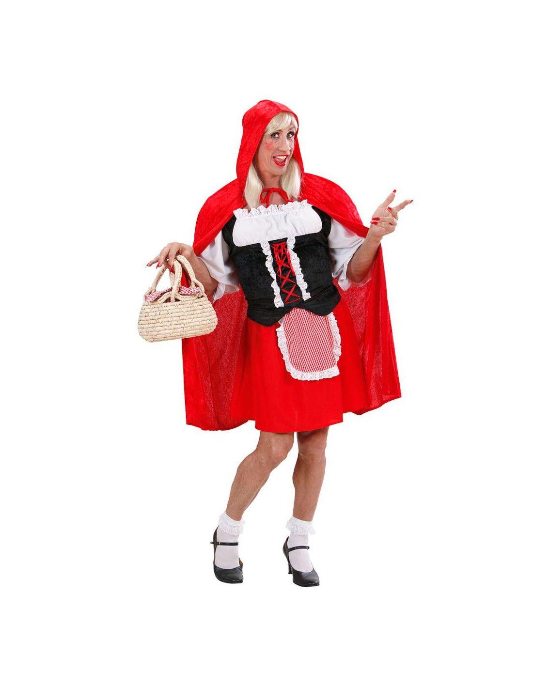Caperucita Roja La Abuelita Y El Lobo Pelicula Porno disfraz caperucita roja para hombre   tienda de disfraces online  