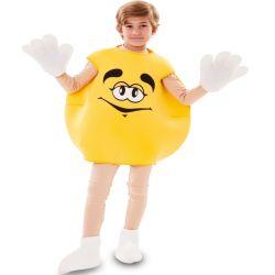 Disfraz Caramelo M&M Amarillo infantil Tienda de disfraces online - venta disfraces