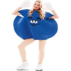 Disfraz Caramelo M&M Azul Adulto Tienda de disfraces online - venta disfraces