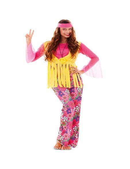 Disfraz de Hippie para Mujer Tienda de disfraces online - venta disfraces