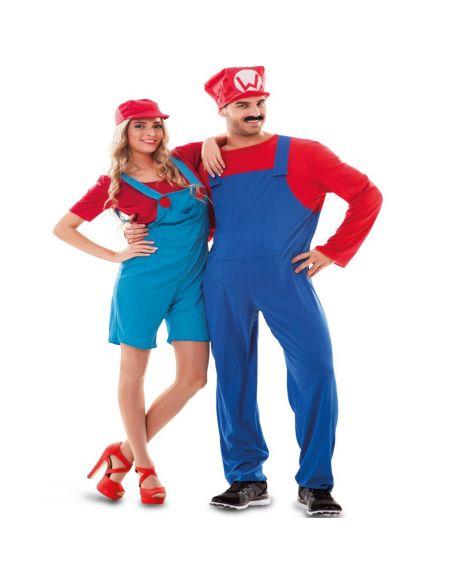 Disfraz Fontanero Mario Tienda de disfraces online - venta disfraces