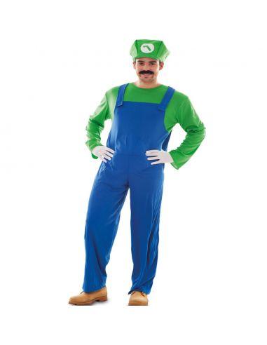Disfraz Fontanero Verde Tienda de disfraces online - venta disfraces