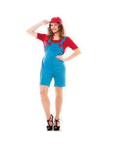 Disfraz de Fontanera Mario Tienda de disfraces online - venta disfraces