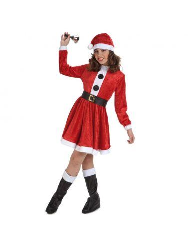 Disfraz de Mama Noel infantíl