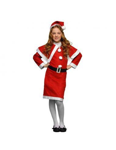 Disfraz Mama Noel para niña