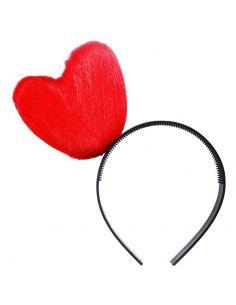 Diadema Corazón rojo Tienda de disfraces online - venta disfraces