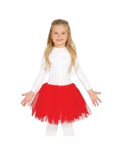 Tutú Rojo Infantil Tienda de disfraces online - venta disfraces