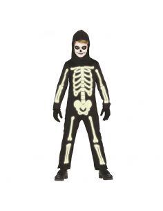 Disfraz Esqueleto Fluorescente Niño Tienda de disfraces online - venta disfraces