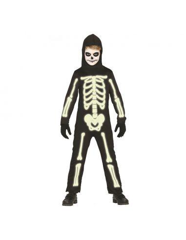 ff7c3ca9d Disfraz Esqueleto Fluorescente Niño
