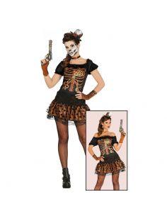 Disfraz Esqueleto Vaquera Tienda de disfraces online - venta disfraces