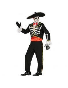 Disfraz Esqueleto Mariachi Adulto Tienda de disfraces online - venta disfraces